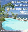 stop worrying and create the life you want hypnosis image for self help CD